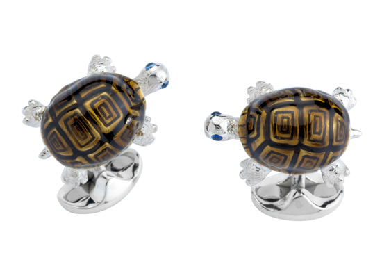Brown Tortoise Cufflinks