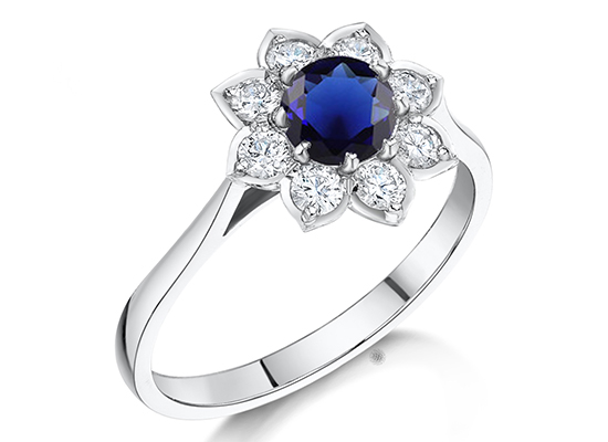 Sapphire Engagement Rings by John Tit be Fine Jewellery